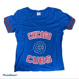 Chicago Clubs women's bedazzled vintage look